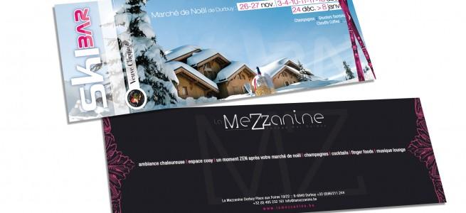 "Dépliant ""La Mezzanine"""