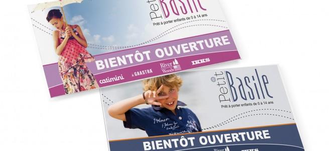 """Dépliant """"Petit Basile"""""""